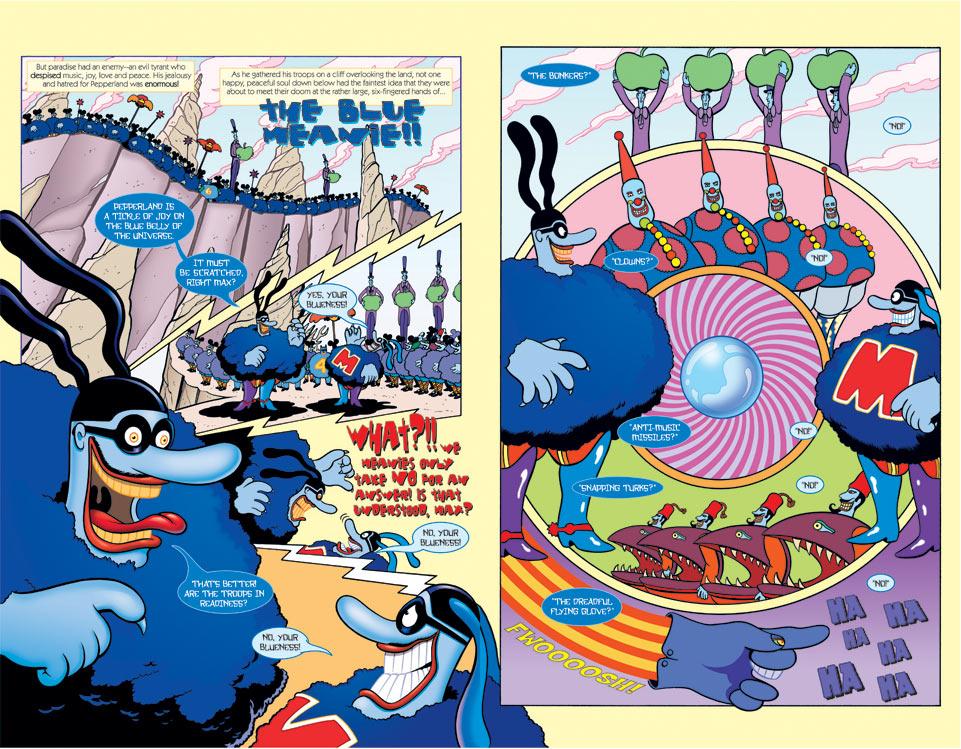 Beatles Poster Yellow Submarine Beatles Yellow Submarine Comic Jpg