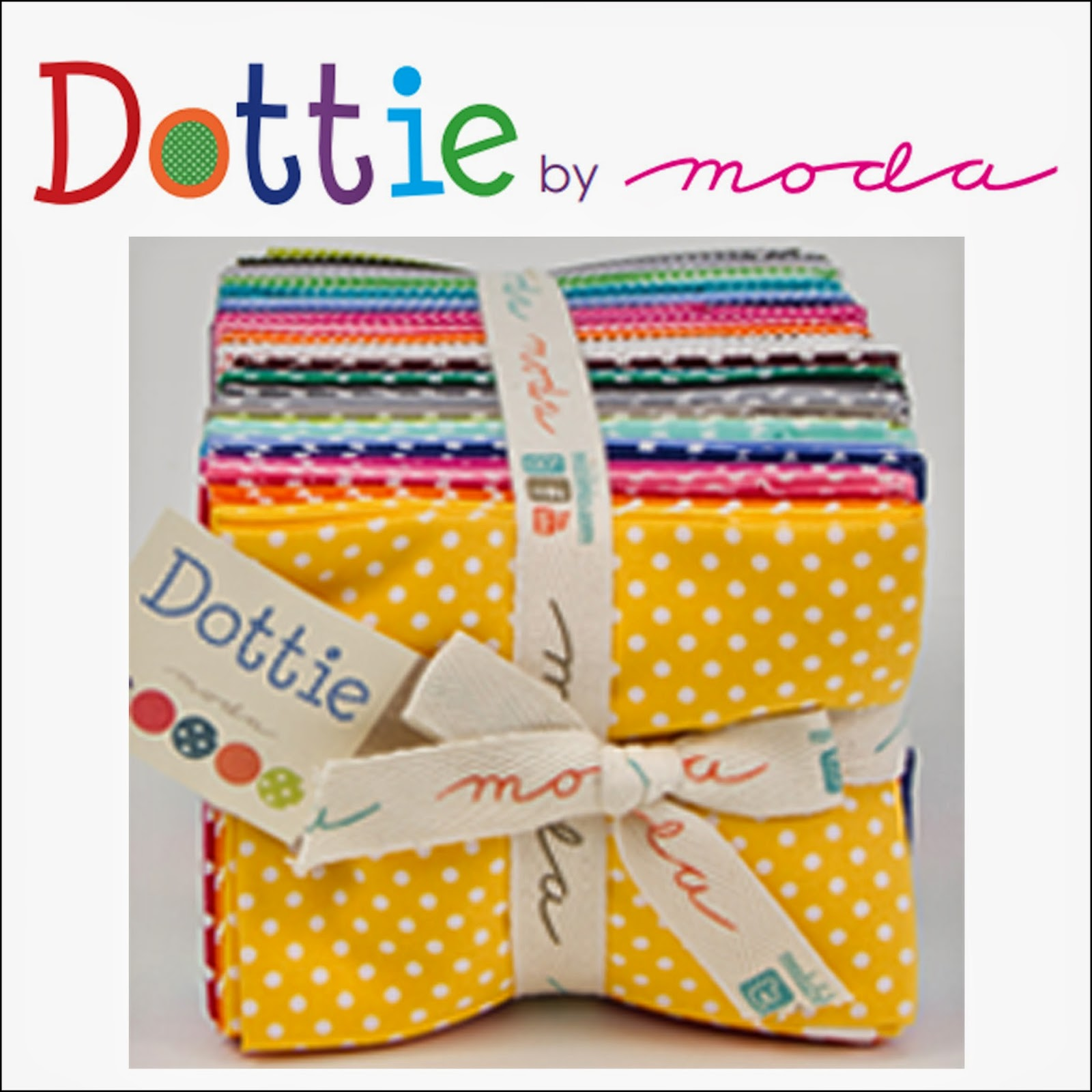 Moda DOTTIE Quilt Fabric by Moda Fabrics