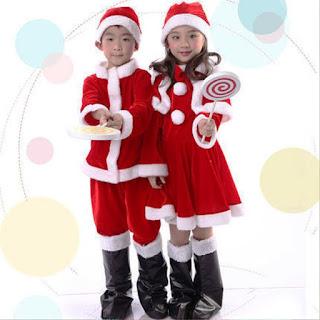 Model Kostum Natal Untuk Anak