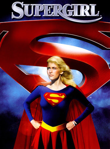 Poster Of Supergirl (1984) In Hindi English Dual Audio 100MB Compressed Small Size Mobile Movie Free Download Only