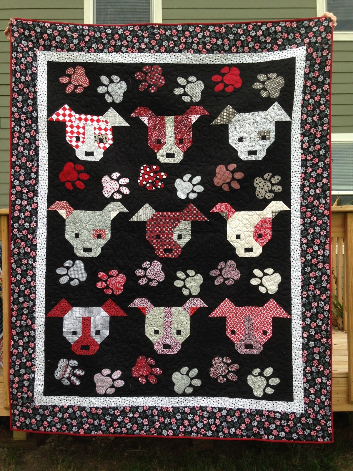 Dog Gone Cute Blog Hop and My Day | The Quilting Queen Online : quilting queen - Adamdwight.com