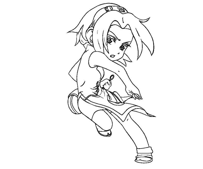 sakura haruno coloring pages - photo#14