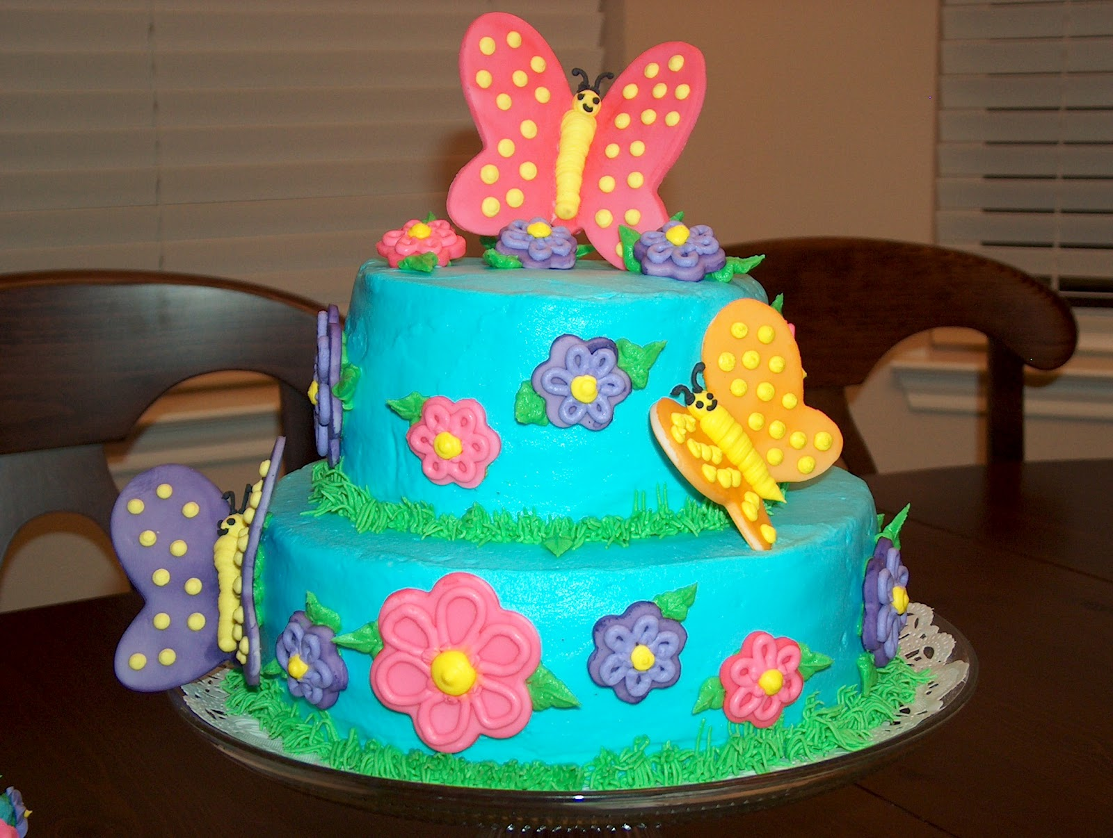Decoration Of Birthday Cake : Themed Cakes, Birthday Cakes, Wedding Cakes: ButterFly ...