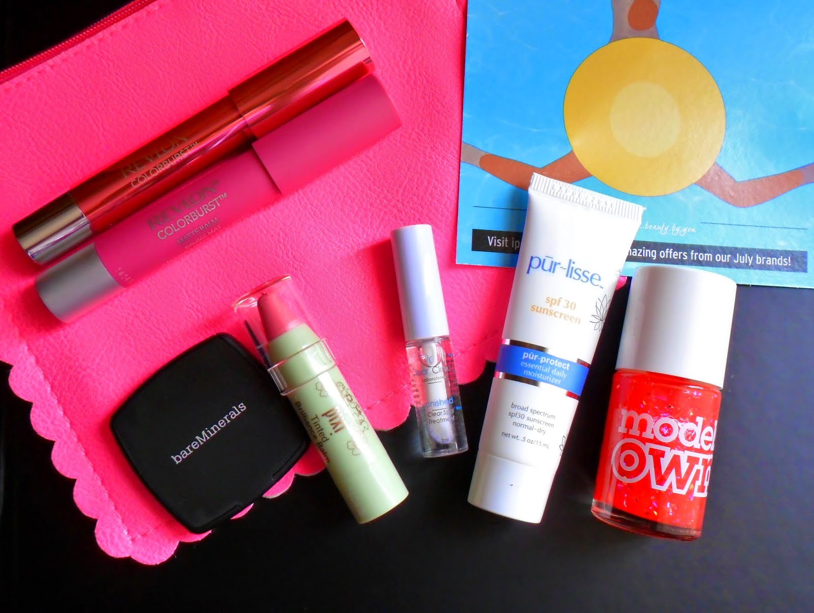 "July 2014 Ipsy ""Sensationally Sunkissed"" Glam Bag Review"