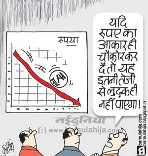 rupee cartoon, inflation cartoon, finance, finance, chidambaram cartoon, indian political cartoon, economy