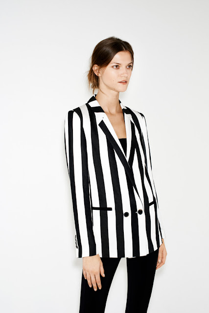 Zara Black&white Jacket