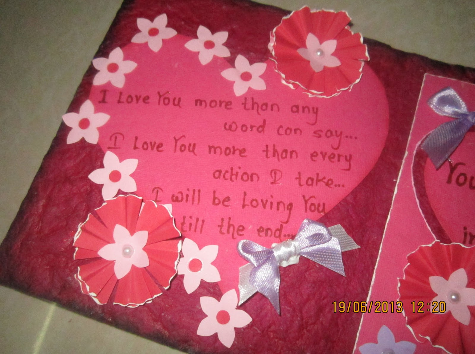 Linas Handmade Cards Love Card