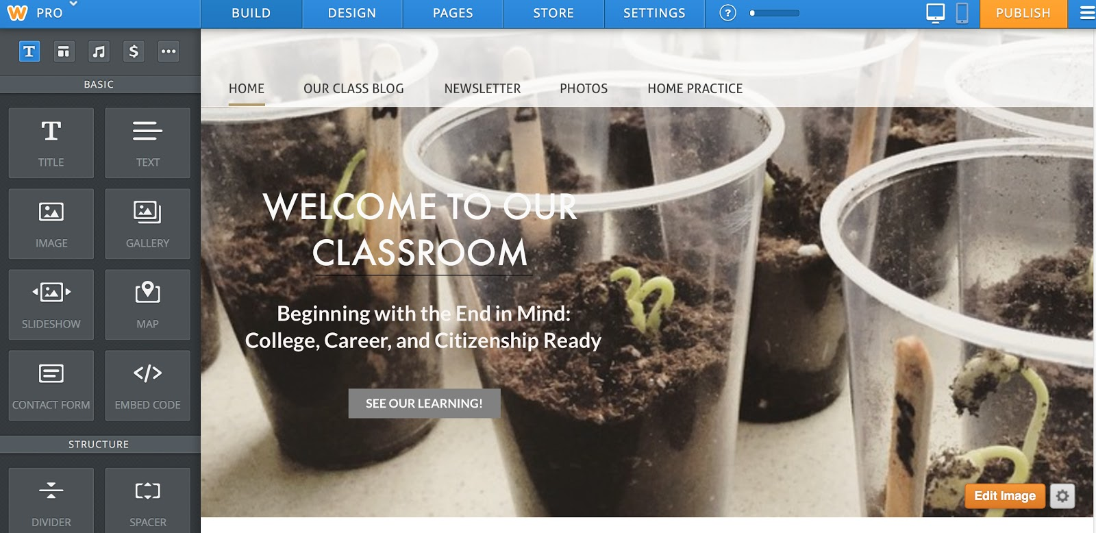 websites created by weebly