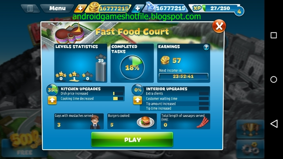 how to get gems in cooking fever