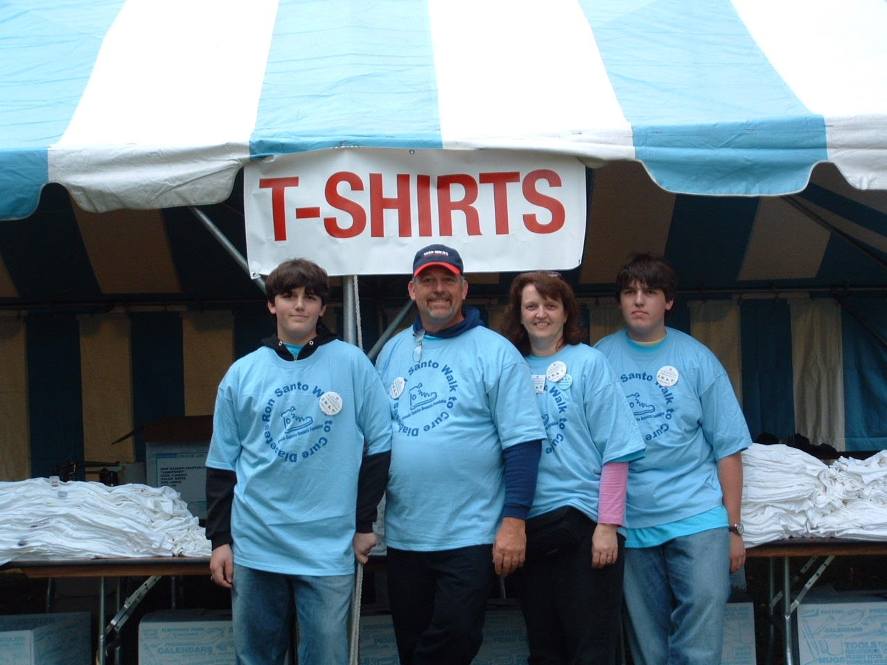 JDRF Ron Santo Walk to Cure Diabetes: April 2011