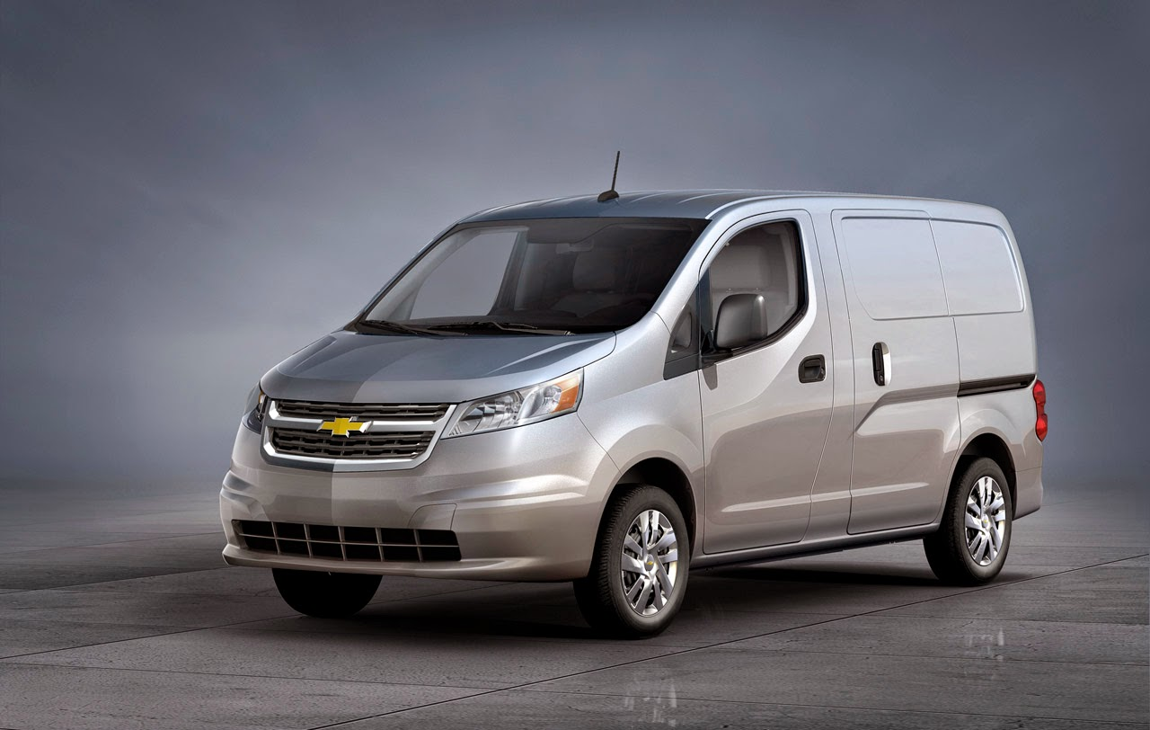 2015 Chevrolet City Express Cargo Van on Road to Dealers