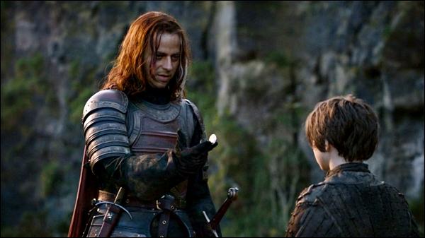 Jaqen H'ghar and Arya, Valar Morghulis