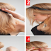 Easy Rolled Updo Hairstyle - Tutorial