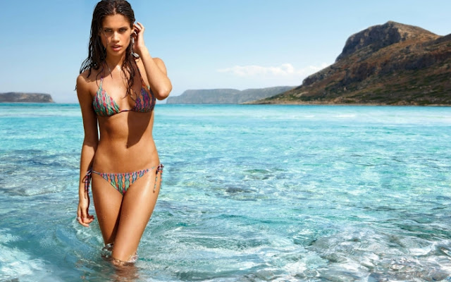 Sara Sampaio in swimwear