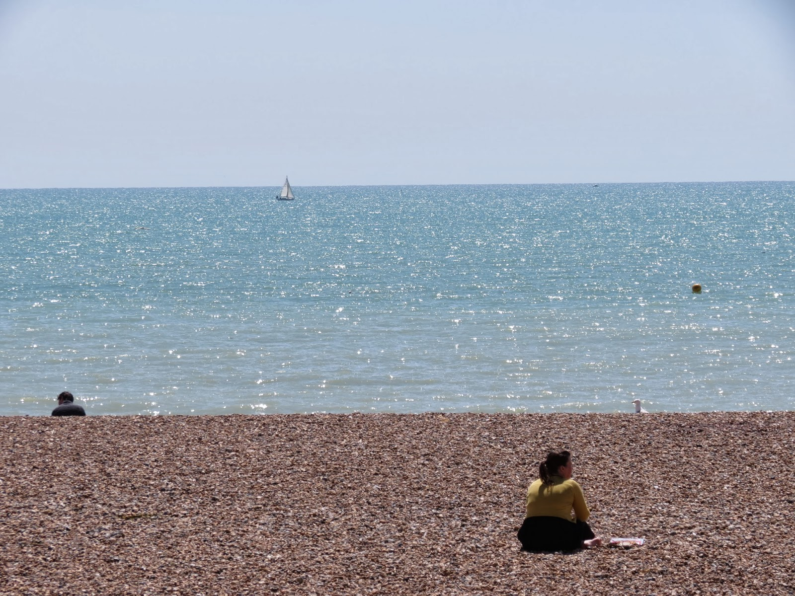 brighton pebble beach