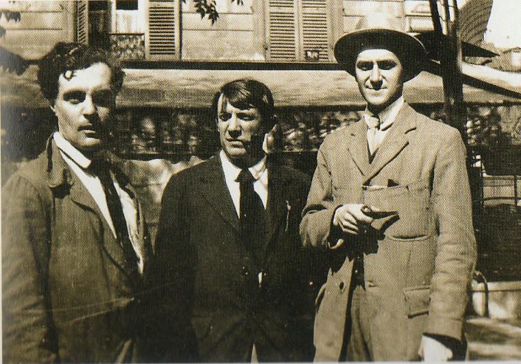 Grupo do Bateau Lavoir (Paris, 1916).