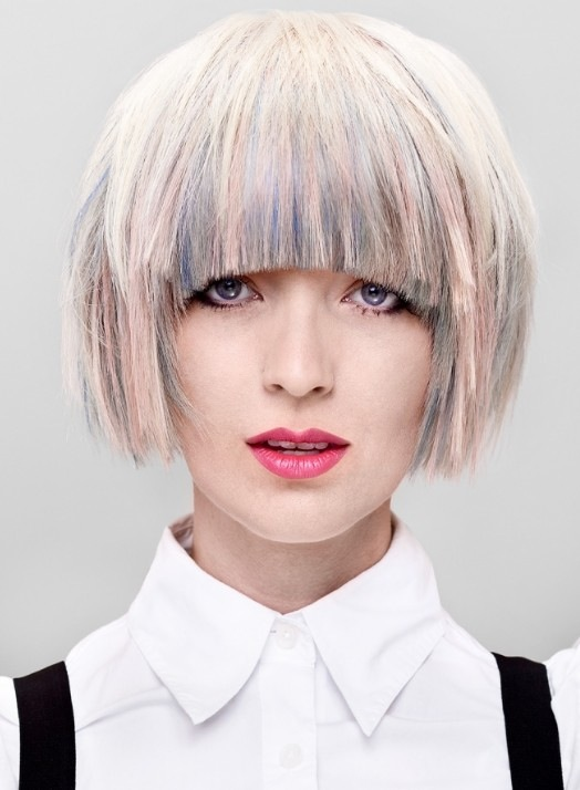Nigerian Hairstyles Bob Hairstyle With Fringe