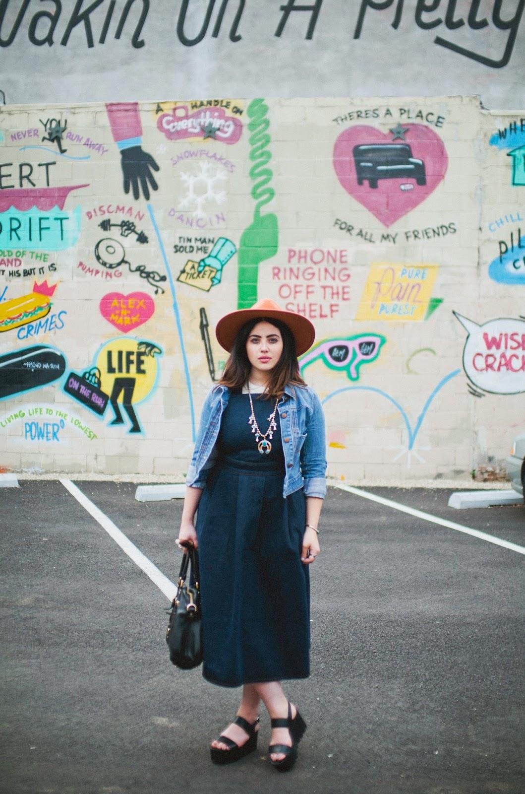 denim, dress, jean, jacket, Philadelphia, fashion, blog, Fishtown,