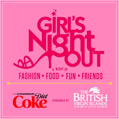 Girls Night Out sponsored by Diet Coke and The British Virgin Islands