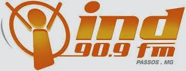 ouvir a Rádio Ind FM 90,9 Passos MG