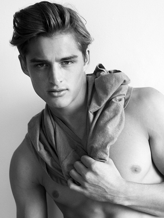 Picture About Male Model Silvester Ruck Captured by Scott Hoover
