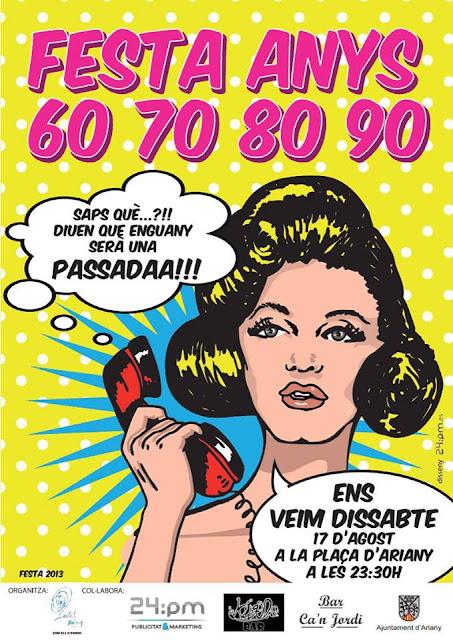 Festa anys 60, 70, 80, 90