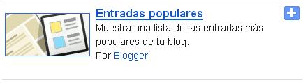 Entradas populares para blogger