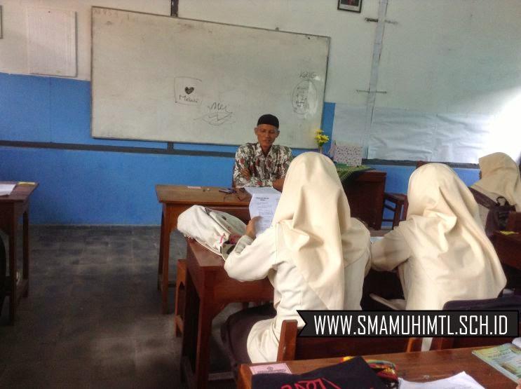 Ujian praktik doa sehari hari sma muhammadiyah 1 muntilan
