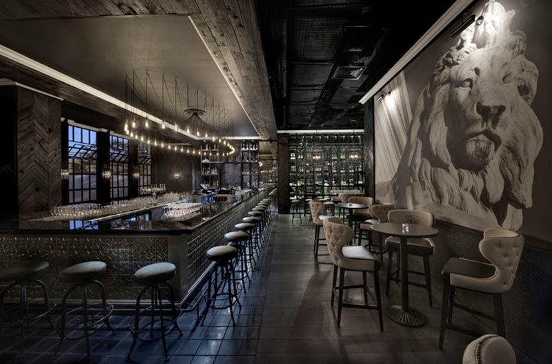 Los 29 mejores dise os de interiores de bares y for Decoracion minimalista definicion