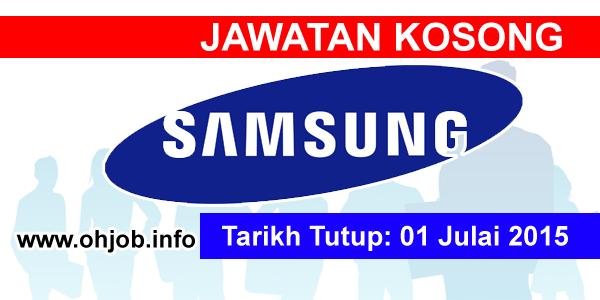Jawatan Kerja Kosong Samsung Engineering (M) Sdn Bhd logo www.ohjob.info julai 2015