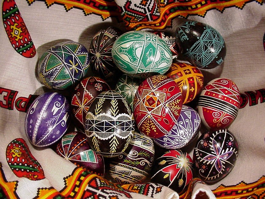 Ukrainian Easter Egg Cake Ideas And Designs