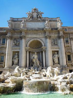 Fontana di Trevi, 許願泉