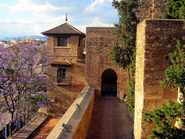 More architectural splendor at Alcazaba. Photo: Cayetano. Unauthorized use is prohibited.