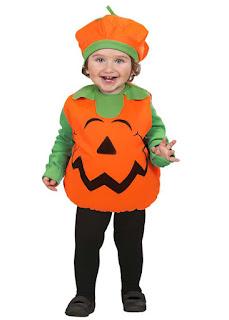 Græskar Halloween Kostume Til Barn