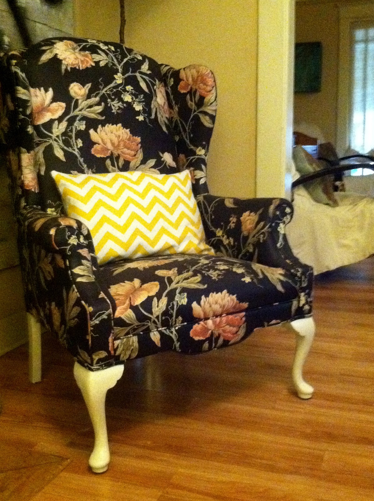 Making Floral Chintz Work In An Eclectic Decor