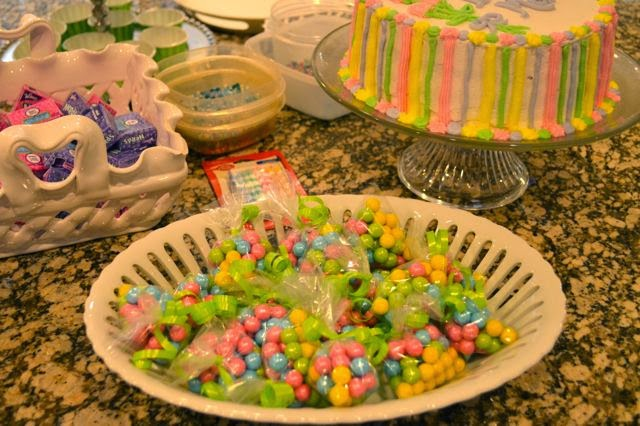 party favors at a tween girl birthday party