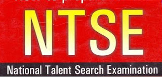 NTSE Logo Exam Paper Talent Students