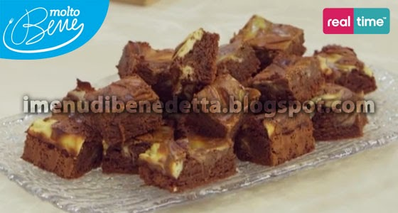 Brownies Cheesecake di Benedetta Parodi