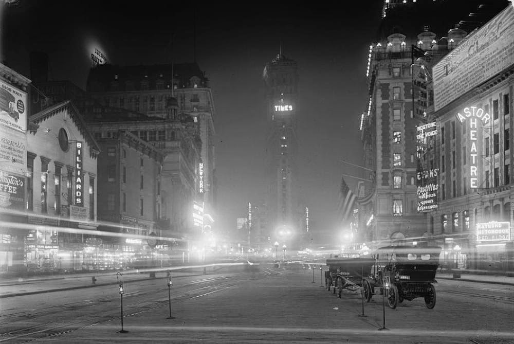 Ultimate Collection Of Rare Historical Photos. A Big Piece Of History (200 Pictures) - Times Square