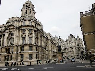 White Hall o distrito gubernamental de Londres