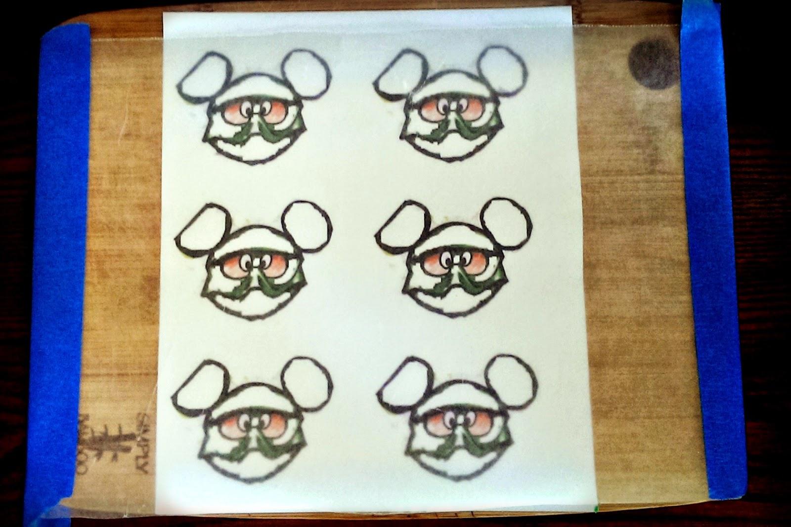 Mickey Mouse rice krispy treats