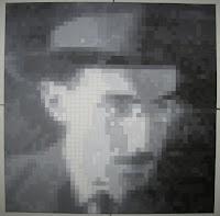 Fernando Pessoa: Pintura Quadrículas 14