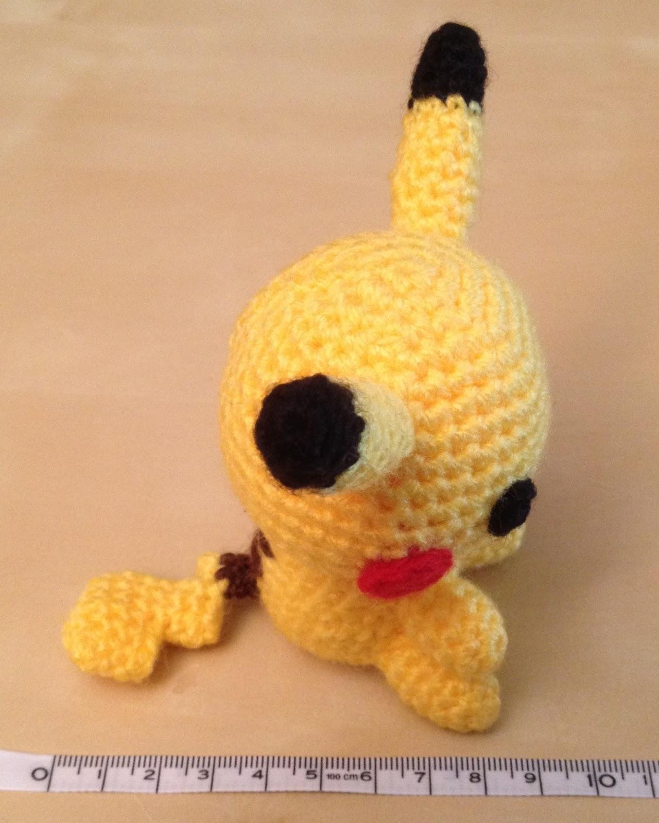 Hannahs Kreativblog: Amigurumi Pikachu