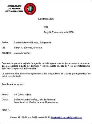 Carta de autorizacion recogida documentos