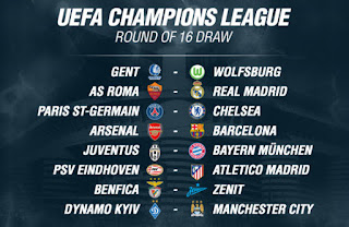 Hasil Drawing Liga Champions