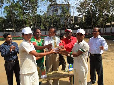 Wining Team of Cox's Bazar Blind Cricket Club