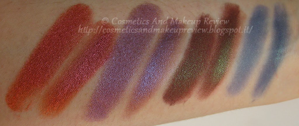 Neve Cosmetics - Pop Society Collection - Compilation, Fuseaux, Videogame, Yuppie - swatches luce neutra indiretta