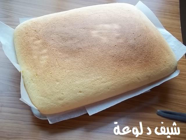 24 الكيكه الاسفنجيه للشيف دلوعه