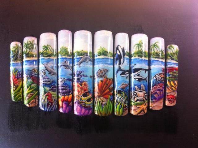 Viv Simmonds Nail Art Designs
