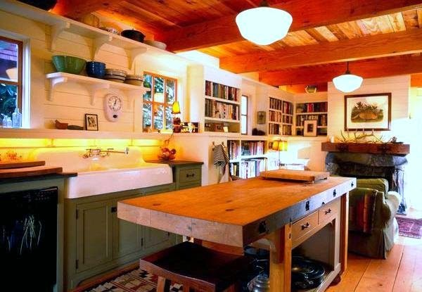 Desain Kitchen Set Classic Terbaru 2014